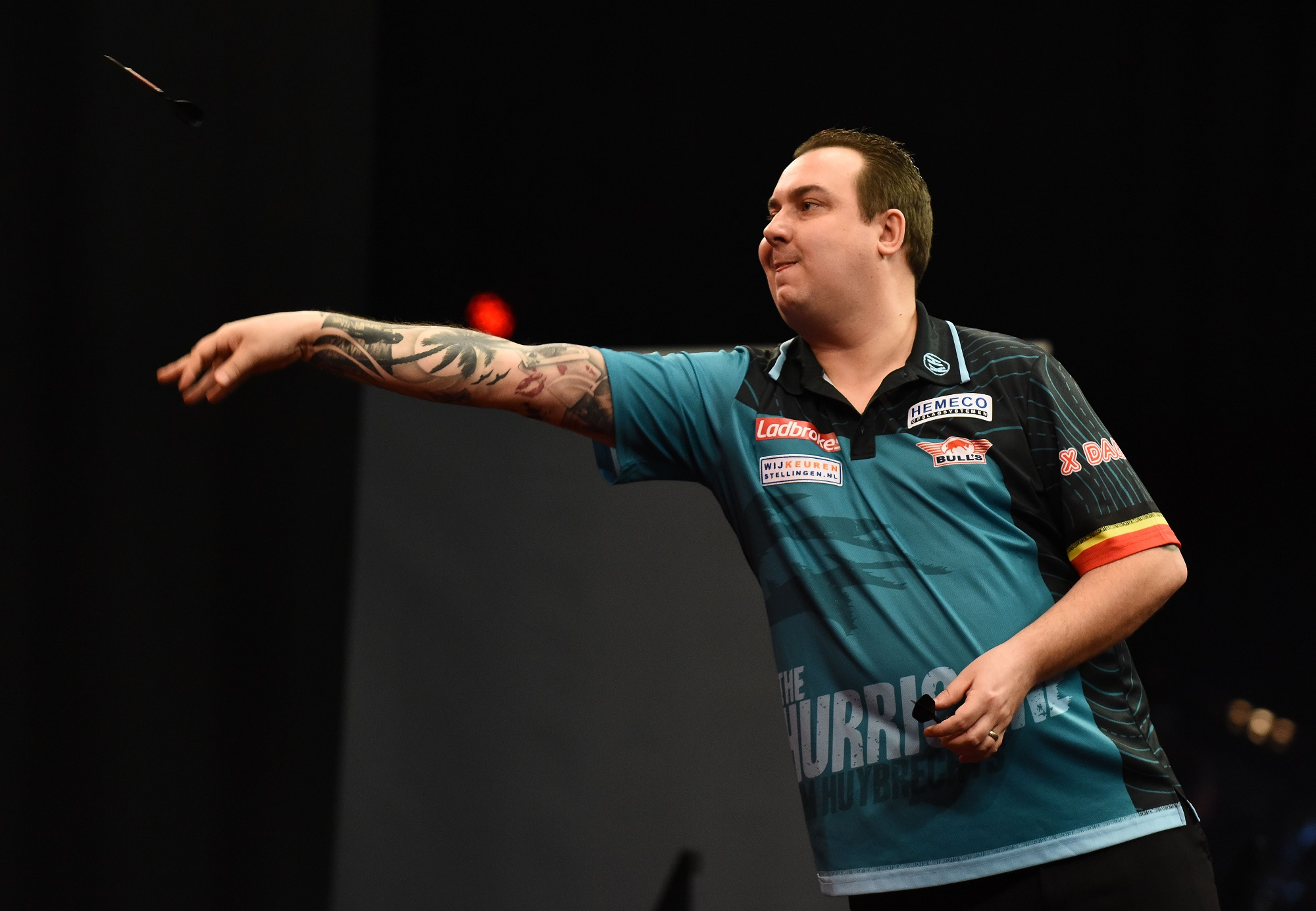 King, Huybrechts and Lewis through to Last 16 at World Series of Darts Finals Qualifier