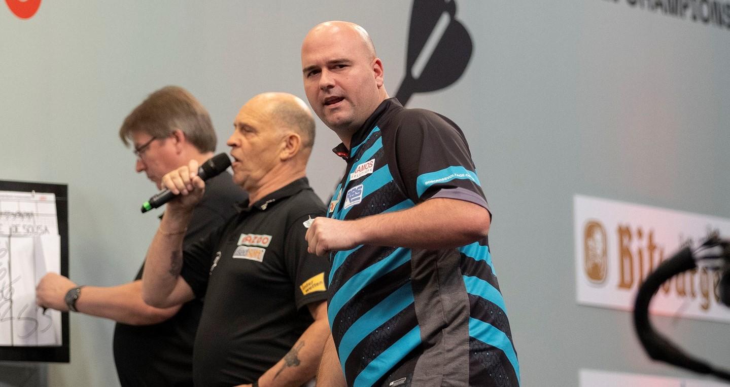 Cross claims second European Championship title after defeating Van Gerwen
