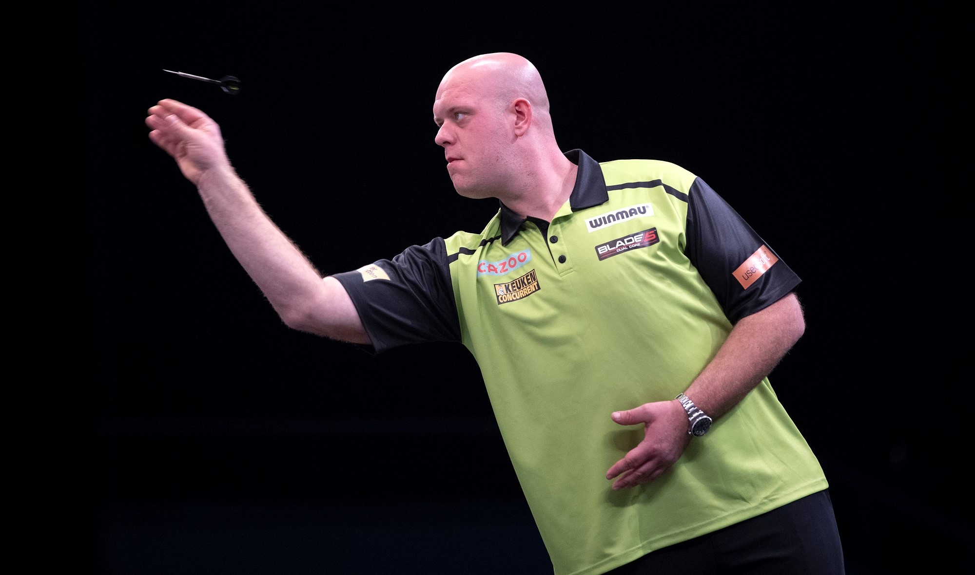 """Van Gerwen disappointed after European Championship final defeat: """"It wasn't good enough and I can only blame myself"""""""