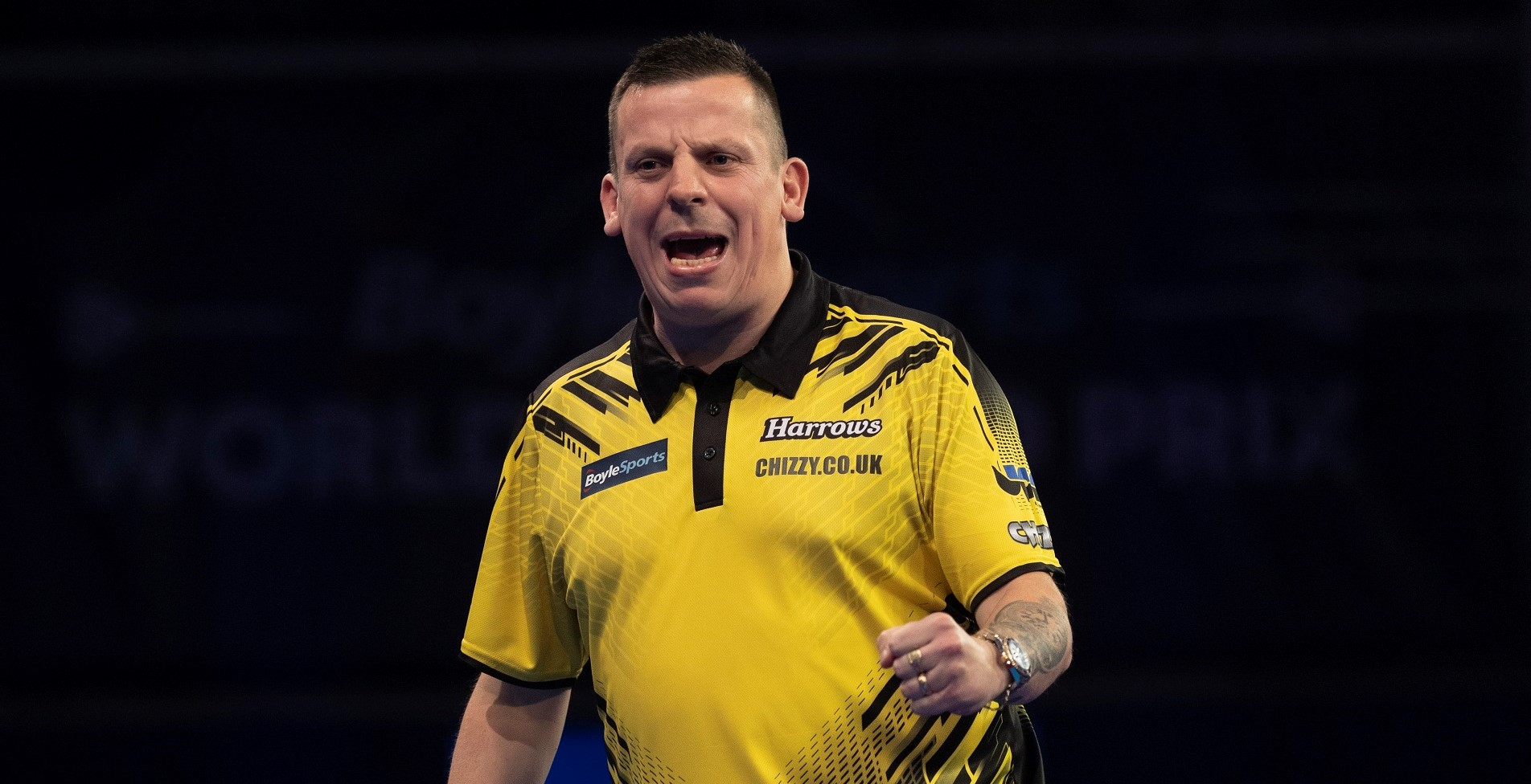 Chisnall becomes a father for second time