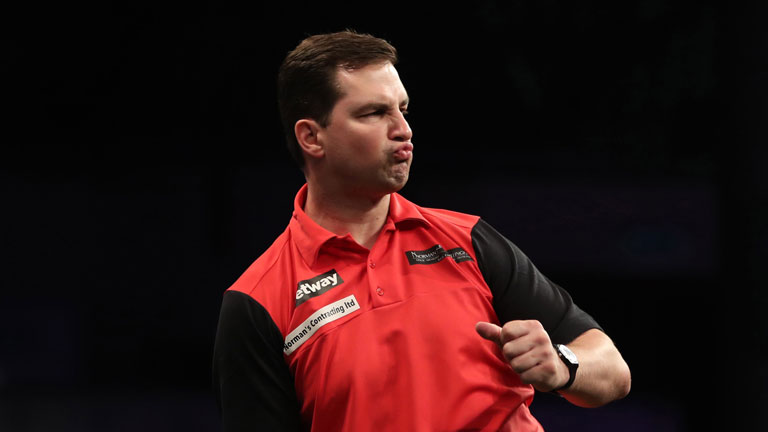 VIDEO: Look back at Norman Jnr's brilliant celebrations as PDC World Darts Championship qualification sealed