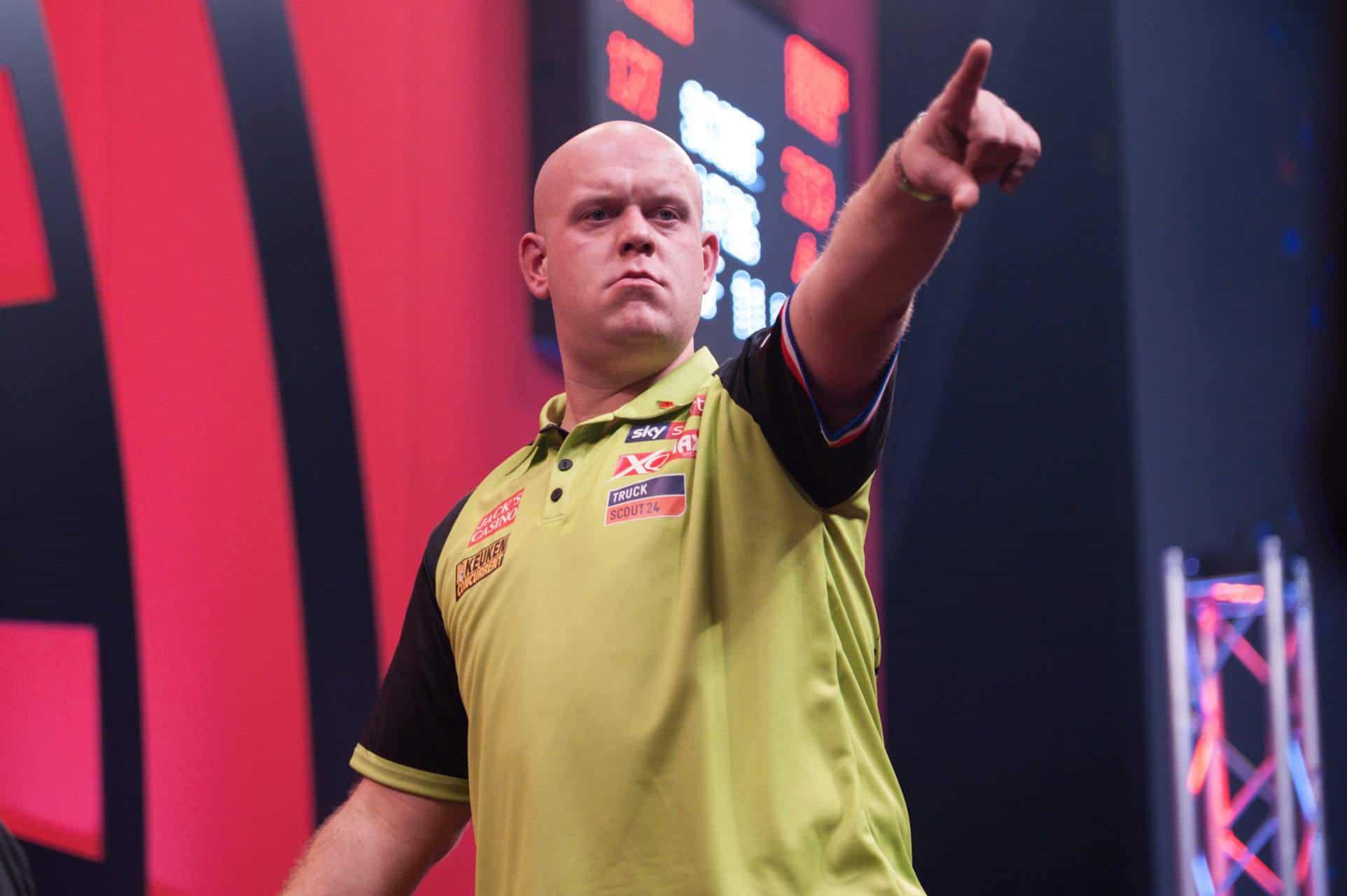 Draw 2021 World Series of Darts Finals: Van Gerwen to face Kuivenhoven or Henderson, Price against De Zwaan or Van Duijvenbode