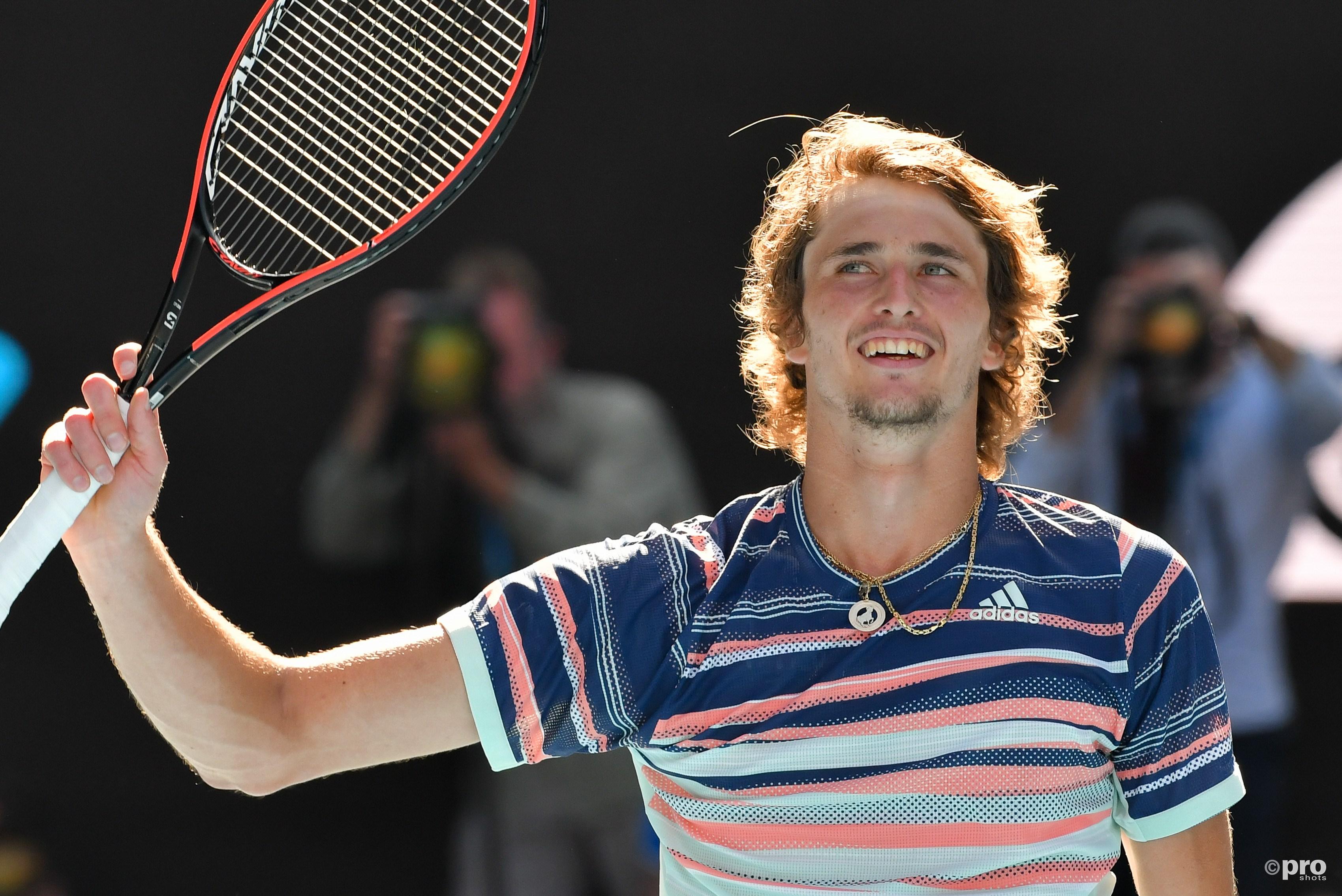 Late 2nd set comeback propels Zverev past Krajinovic in Vienna